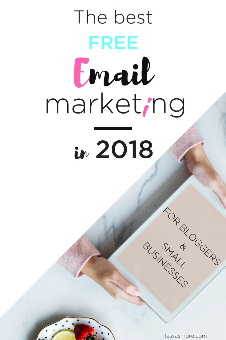 The Best Free Email Marketing In 2018 (1