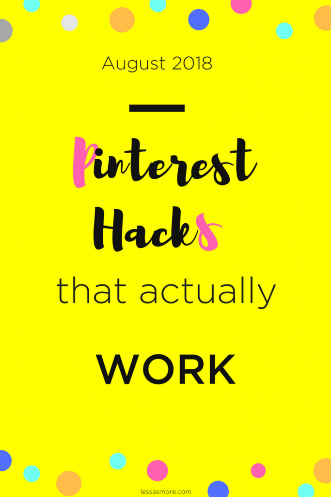 Pinterest hacks and tips that actually work! Your winning pinterest strategy in 2018! Grow your Pinterest traffic immensely by applying these #pinteresttips and tricks! #socialmediatips #pinteresttips #pinteresttraffic